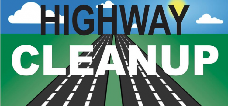 Highway Cleanup – Wednesday May 22, 2019